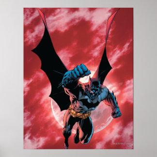 Batman Firey Sky Poster