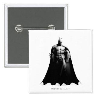 Batman Front View B W Button