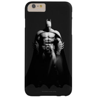 Batman Front View B/W Barely There iPhone 6 Plus Case
