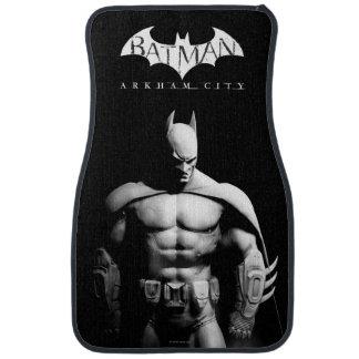 Batman Front View B/W Floor Mat