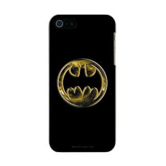 Batman Gold Logo 2 Incipio Feather® Shine iPhone 5 Case