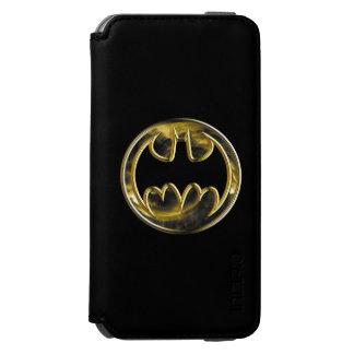 Batman Gold Logo 2 Incipio Watson™ iPhone 6 Wallet Case