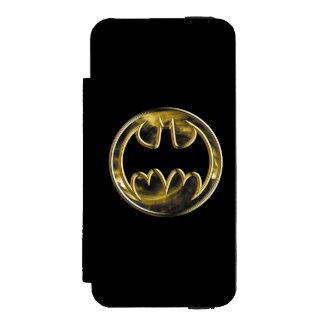 Batman Gold Logo 2 Incipio Watson™ iPhone 5 Wallet Case