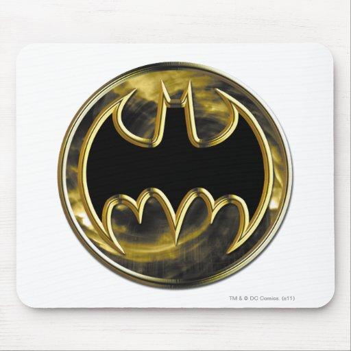 Batman Gold Logo Mousepads