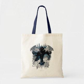 Batman Graffiti Graphic - I Know How You Think Budget Tote Bag
