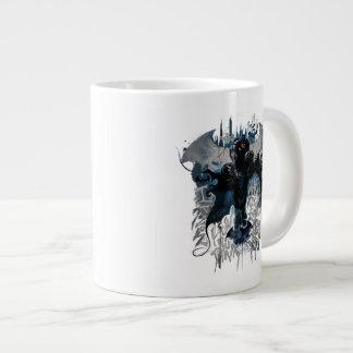 Batman Graffiti Graphic - I Know How You Think Jumbo Mug