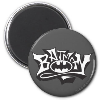 Batman Graffiti Name 6 Cm Round Magnet