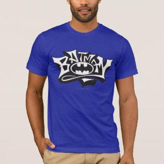 Batman | Graffiti Name Logo T-Shirt