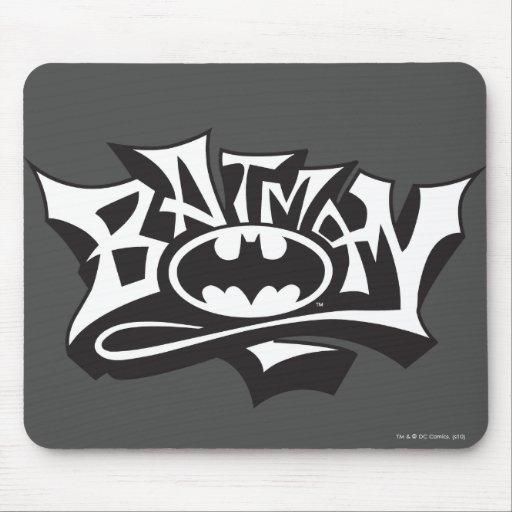 Batman Graffiti Name Mouse Pad