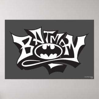 Batman Graffiti Name Posters