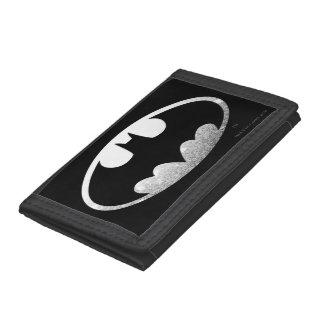 Batman Grainy Logo Tri-fold Wallet