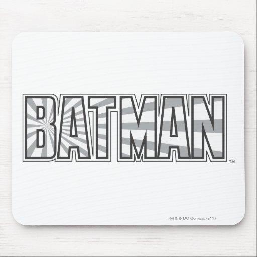 Batman GreyStarbust Logo Mouse Pads