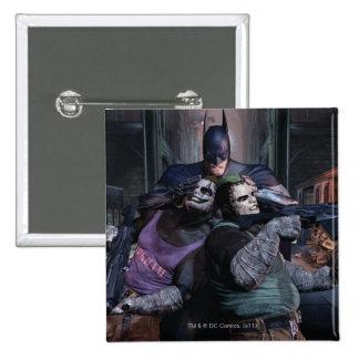 Batman Group 2 15 Cm Square Badge