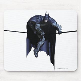 Batman Hanging On Line Mouse Pads