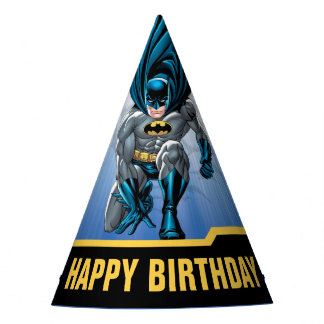 Batman   Happy Birthday Party Hat