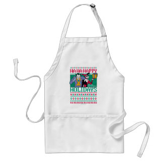 Batman | Happy Holidays Joker & Harley Quinn Standard Apron