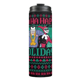 Batman | Happy Holidays Joker & Harley Quinn Thermal Tumbler