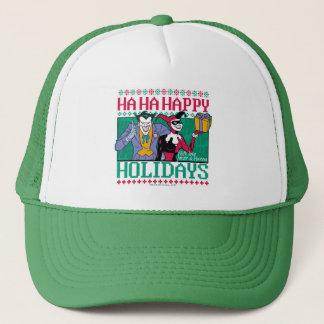 Batman | Happy Holidays Joker & Harley Quinn Trucker Hat