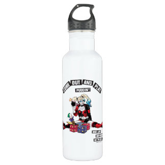 "Batman | Harley Quinn ""Come Out And Play Puddin'"" 710 Ml Water Bottle"
