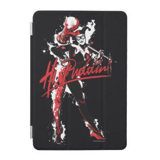 """Batman   Harley Quinn """"Hi Puddin'"""" Ink Art iPad Mini Cover"""