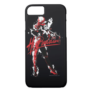 "Batman | Harley Quinn ""Hi Puddin'"" Ink Art iPhone 8/7 Case"