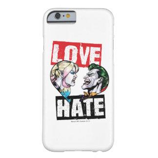 Batman | Harley Quinn & Joker Love/Hate Barely There iPhone 6 Case