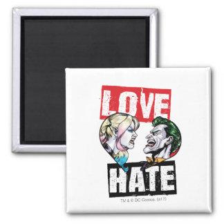 Batman | Harley Quinn & Joker Love/Hate Magnet