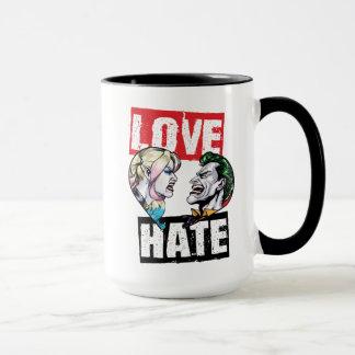 Batman | Harley Quinn & Joker Love/Hate Mug