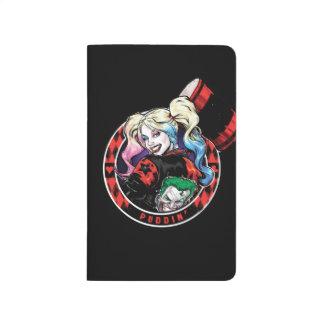 Batman | Harley Quinn Winking With Mallet Journal