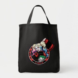 Batman | Harley Quinn Winking With Mallet Tote Bag