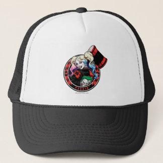 Batman | Harley Quinn Winking With Mallet Trucker Hat