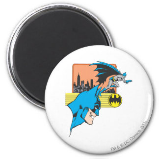 Batman Head 2 6 Cm Round Magnet
