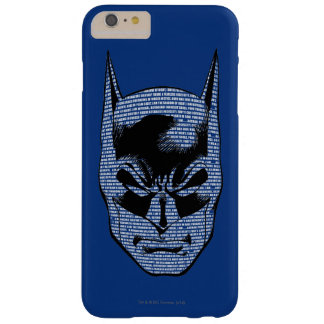 Batman Head Mantra Barely There iPhone 6 Plus Case