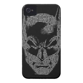 Batman Head Mantra iPhone 4 Case