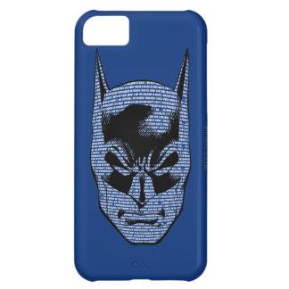 Batman Head Mantra iPhone 5C Case