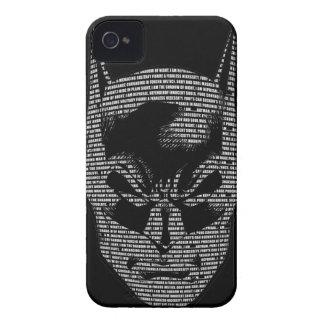 Batman Head Mantra iPhone 4 Case-Mate Cases