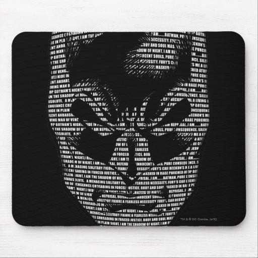 Batman Head Mantra Mousepad