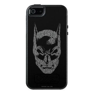 Batman Head Mantra OtterBox iPhone 5/5s/SE Case
