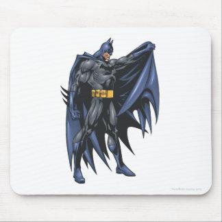 Batman holds cape - side mouse pad