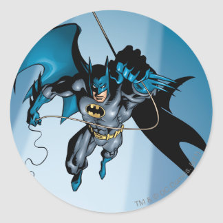 Batman Hyperdrive - 11B Round Sticker