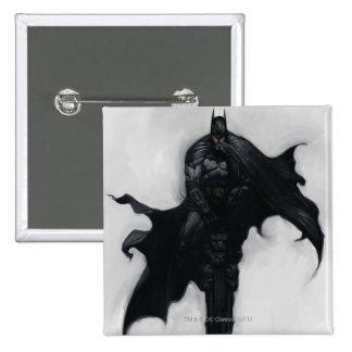 Batman Illustration 15 Cm Square Badge