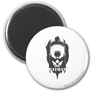 Batman Image 21 6 Cm Round Magnet