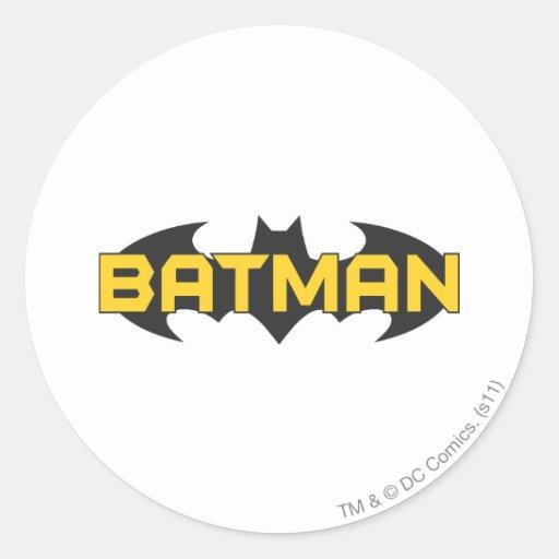 Batman Image 64 Round Sticker