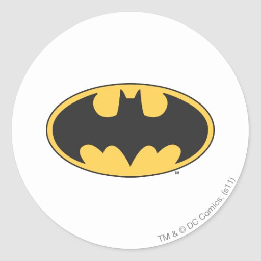 Batman Image 71 Round Stickers