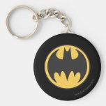 Batman Image 72 Basic Round Button Key Ring