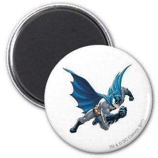 Batman into action 6 cm round magnet