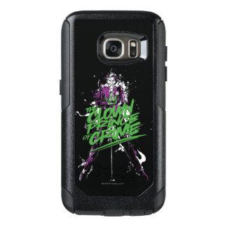 Batman   Joker Clown Prince Of Crime Ink Art OtterBox Samsung Galaxy S7 Case