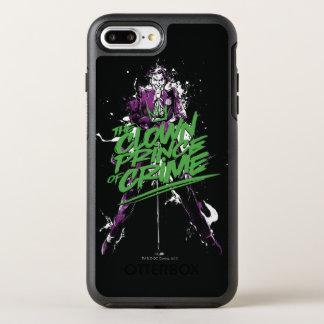 Batman | Joker Clown Prince Of Crime Ink Art OtterBox Symmetry iPhone 8 Plus/7 Plus Case