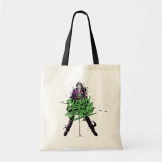 Batman   Joker Clown Prince Of Crime Ink Art Tote Bag