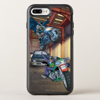 Batman & Joker - Riding Motorcycles OtterBox Symmetry iPhone 7 Plus Case